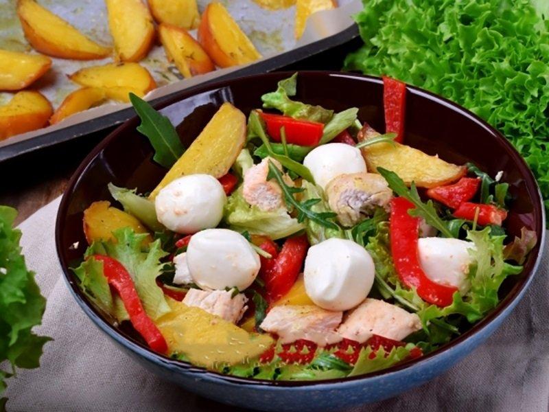 рецепти салатів з картоплею