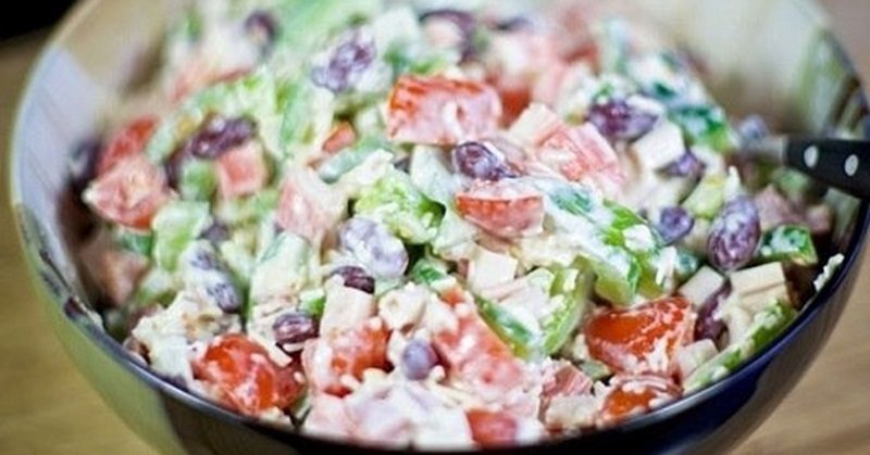салаты с томатами рецепты