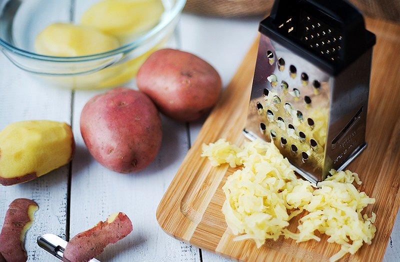 картофель для осветления кожи