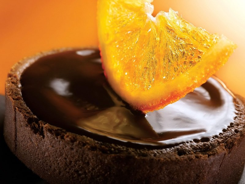 шоколад и апельсин
