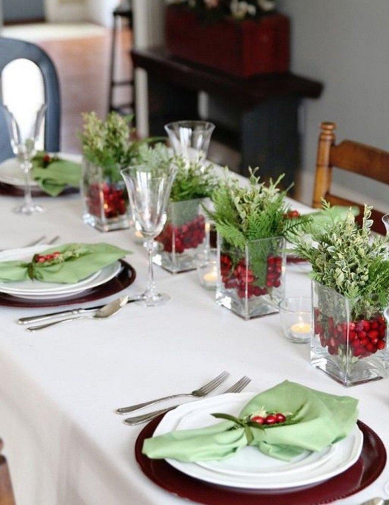 зеленые растения украшение