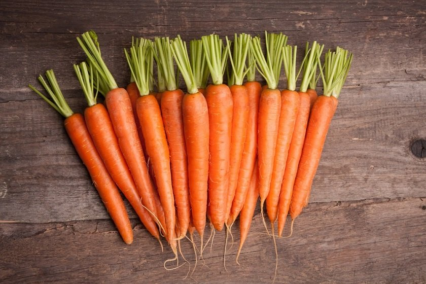 морковь улучшает зрение