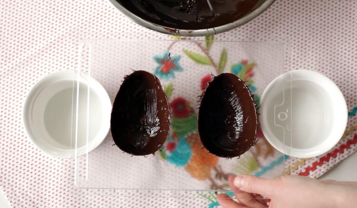 шоколад в форме