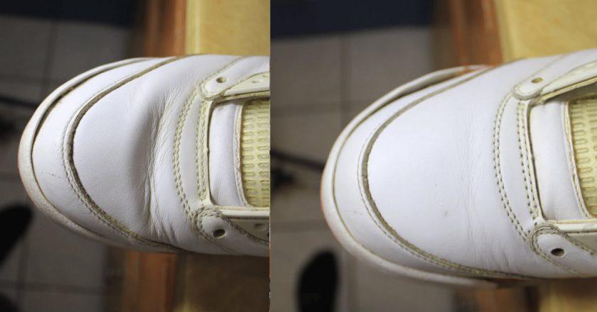 складки на обуви как убрать