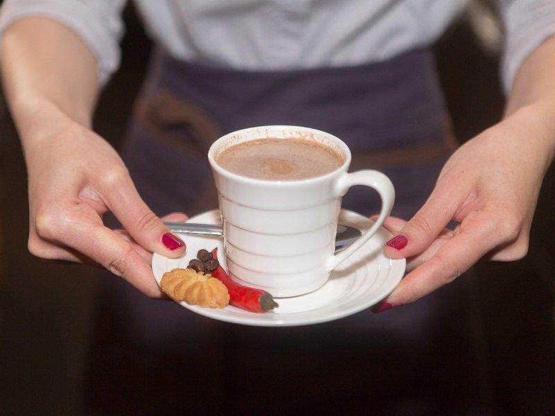 кофе в кафе фото