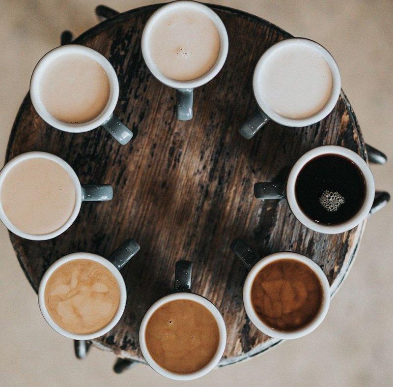 виды кофе фото