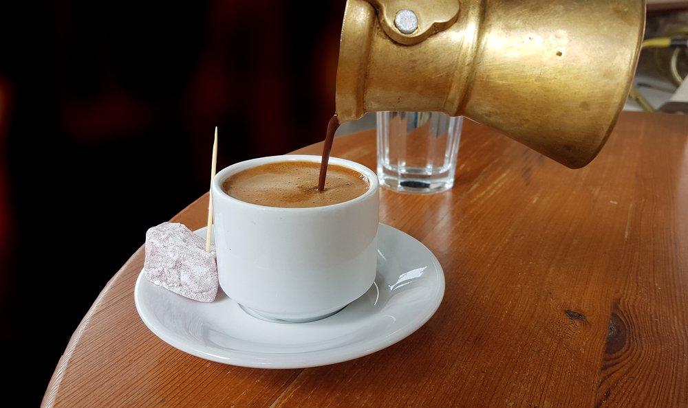 кофе из турки фото