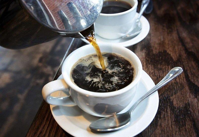 кофе в кружке фото
