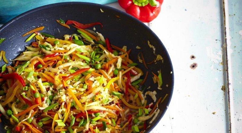 стир-фрай овощи