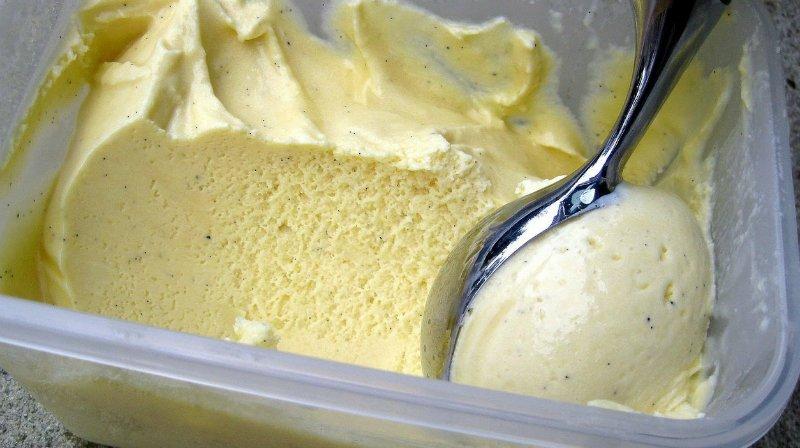 ванильное мороженое по Дюкану