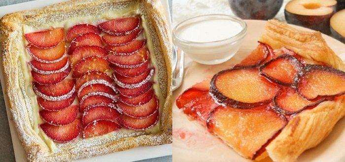 сливовые пироги