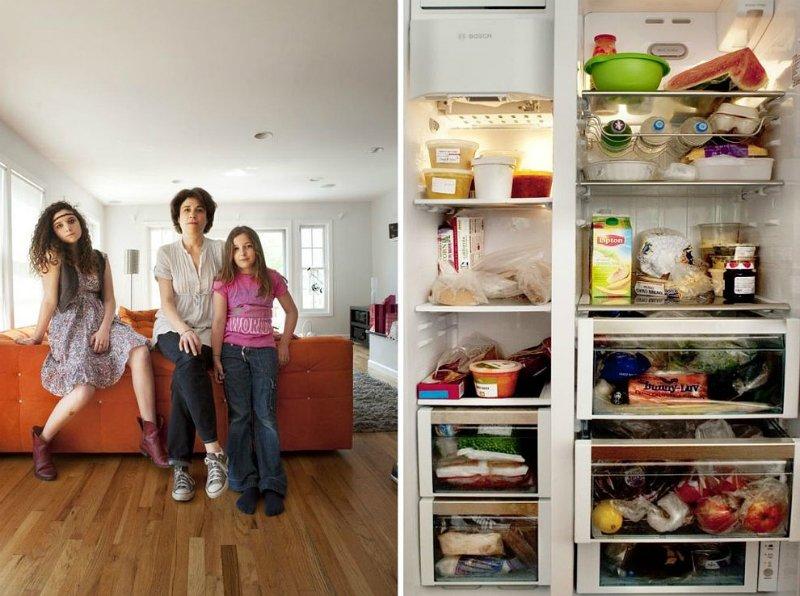 содержимое холодильника