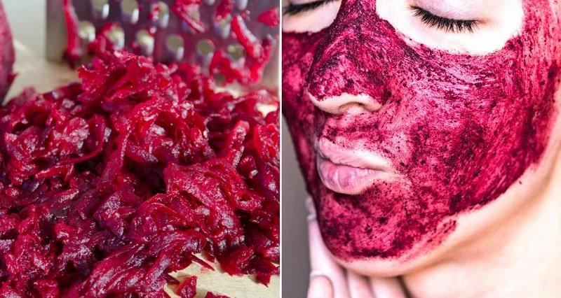 свекольная маска для лица