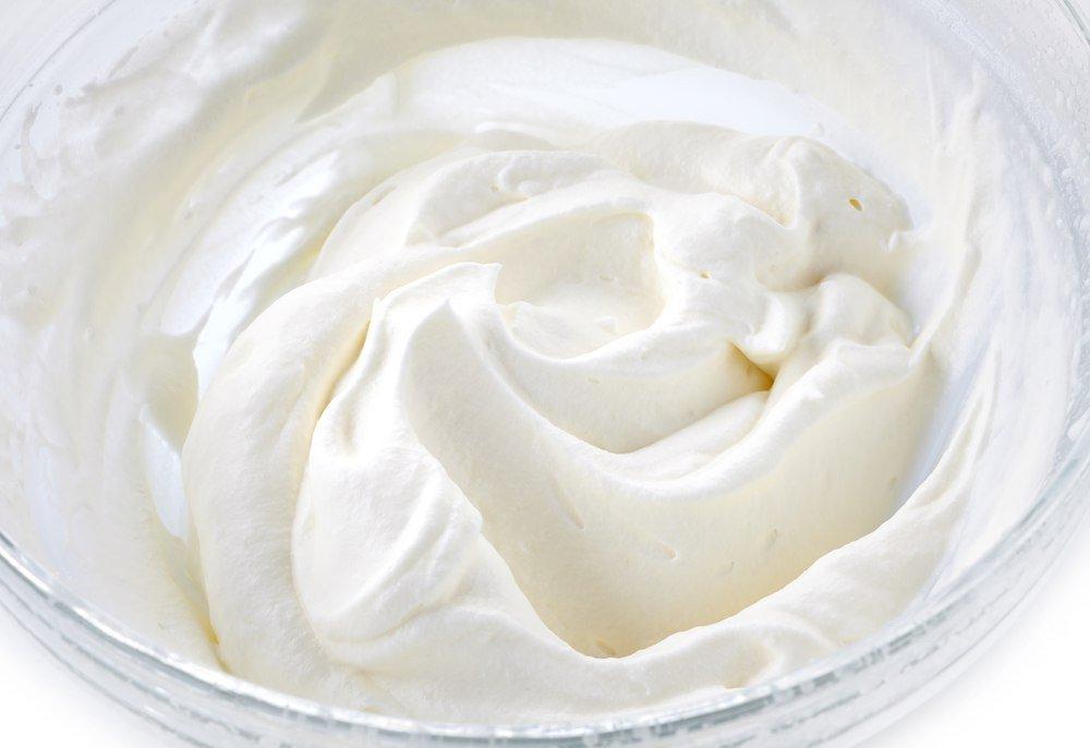 соль в белковом креме