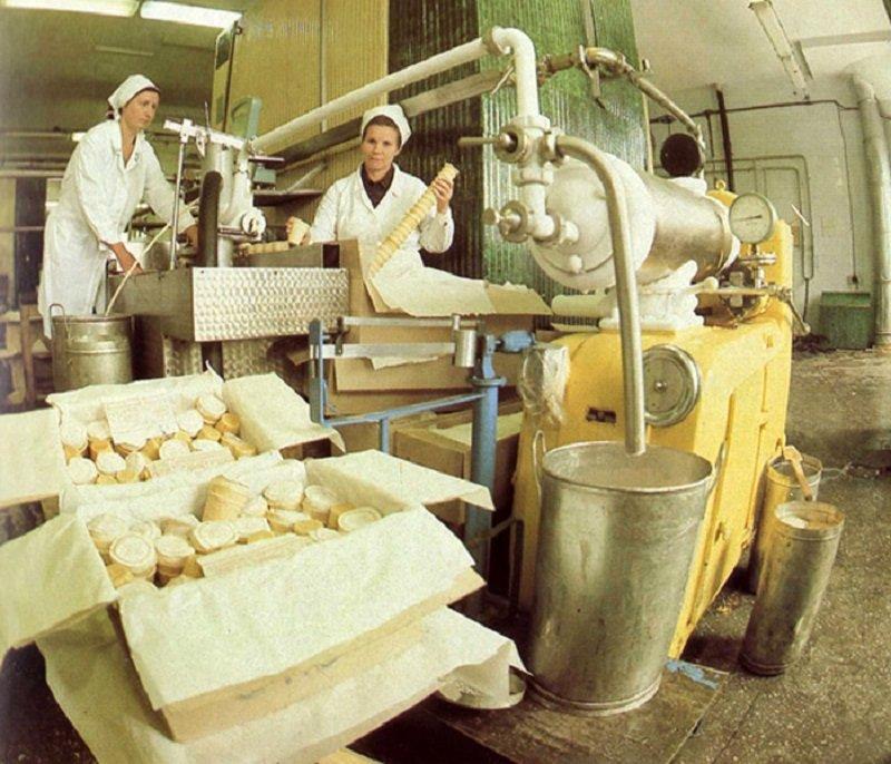 как приготовить советское мороженое дома