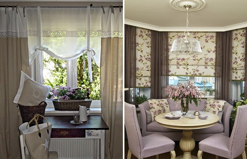 шторы с цветами