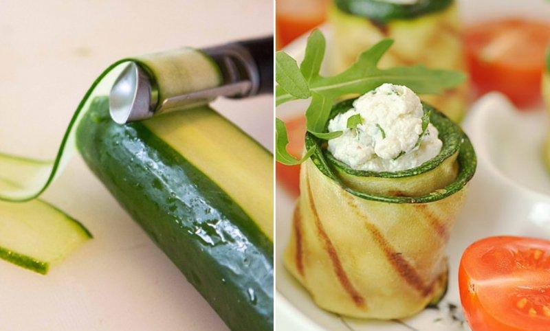 способы применения овощечистки