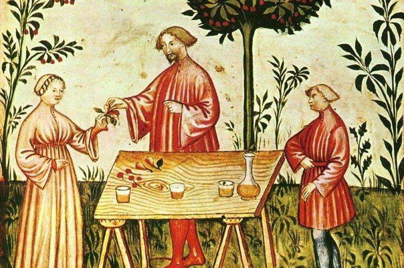 jedzenie w średniowieczu