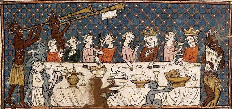 традиции средневековья