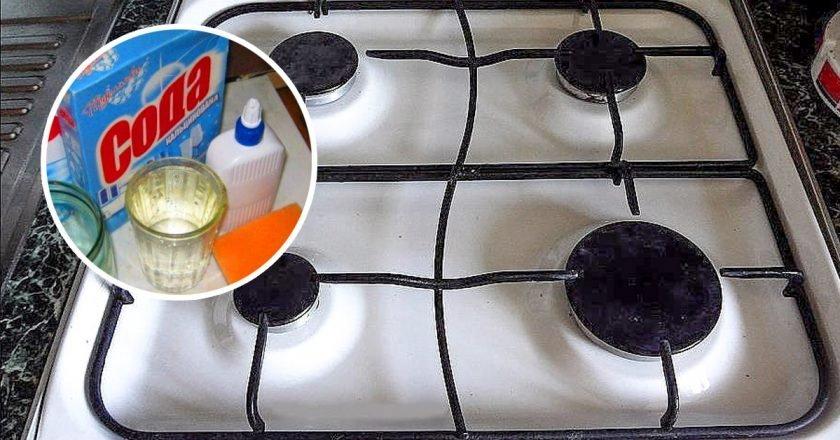 Средство для чистки плиты