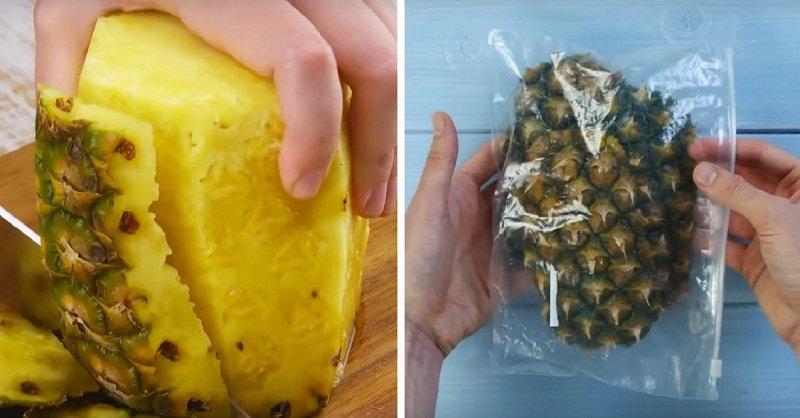 кожура ананаса
