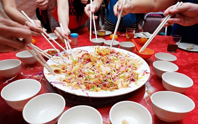 Chińska etykieta przy stole