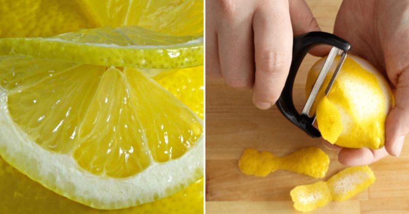 лимонная цедра в кулинарии