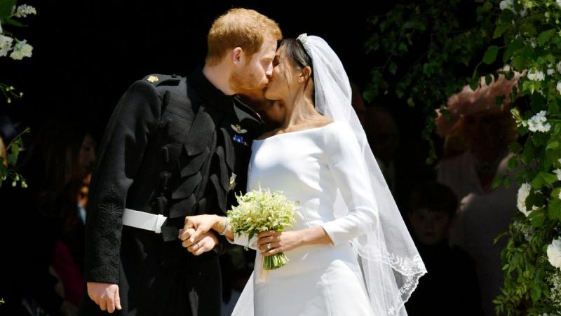 меган маркл вышла замуж за принца гарри