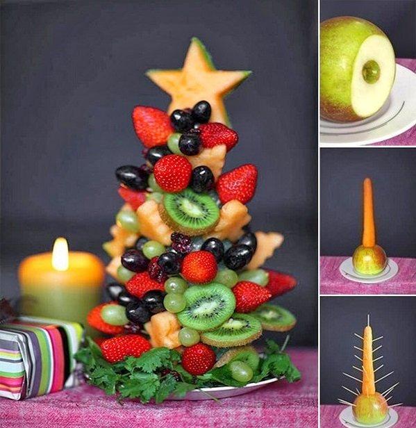 фруктовая елочка