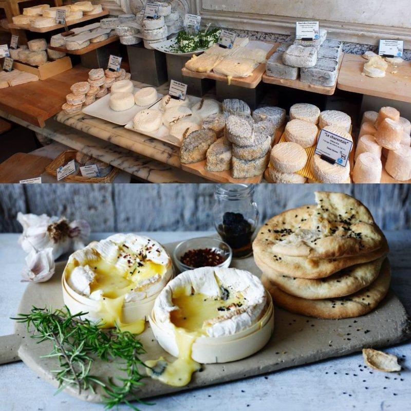 мягкий французский сыр с белой плесенью