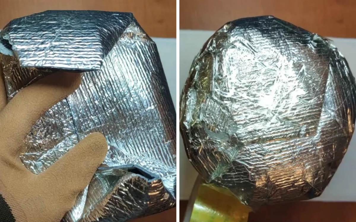термос из теплоизолятора