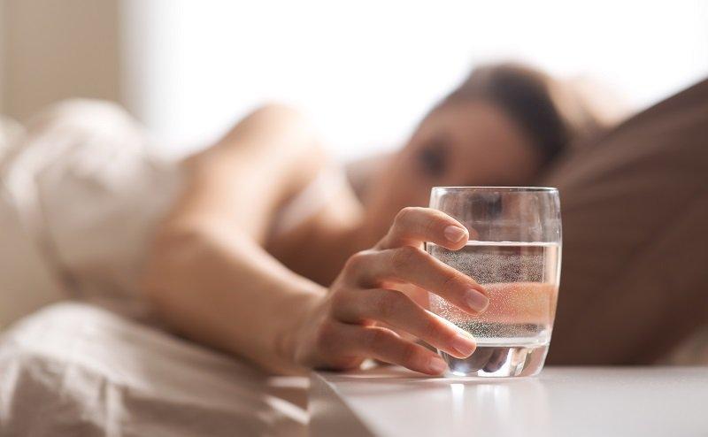 Тибетское питание, употребление воды утром