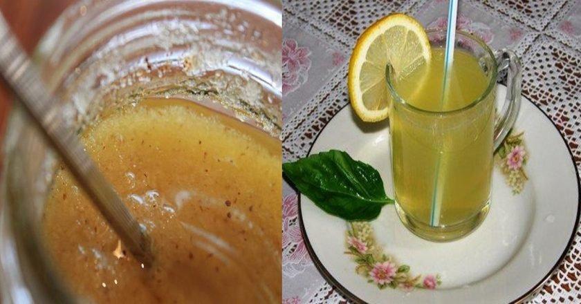 детокс-лимонад
