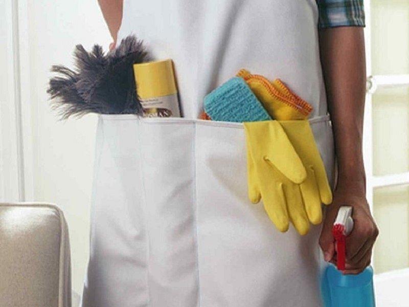 фартук для уборки