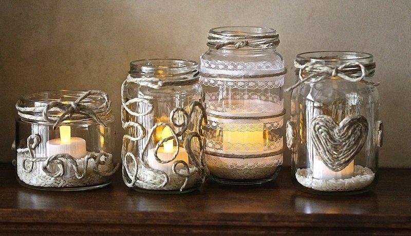 баночки из-под свечей