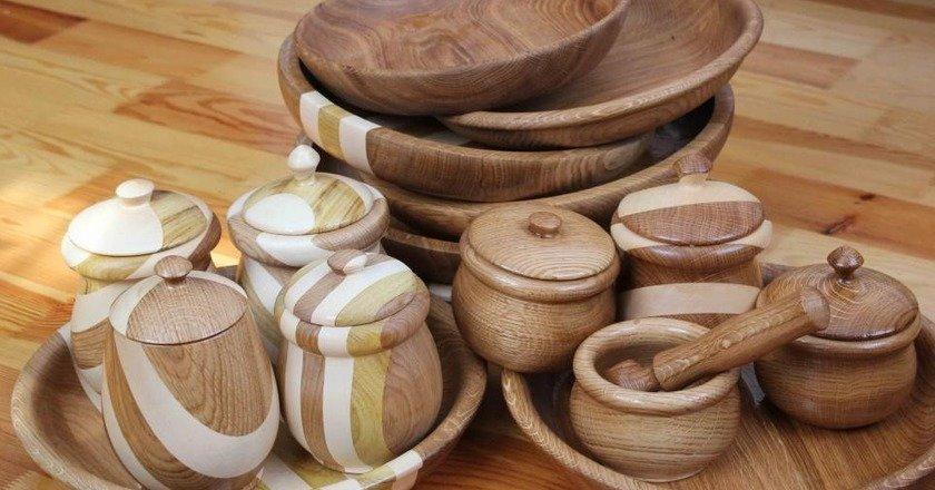 где хранить деревянную посуду