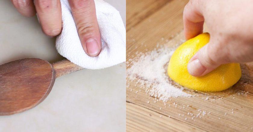 как ухаживать за деревянной посудой