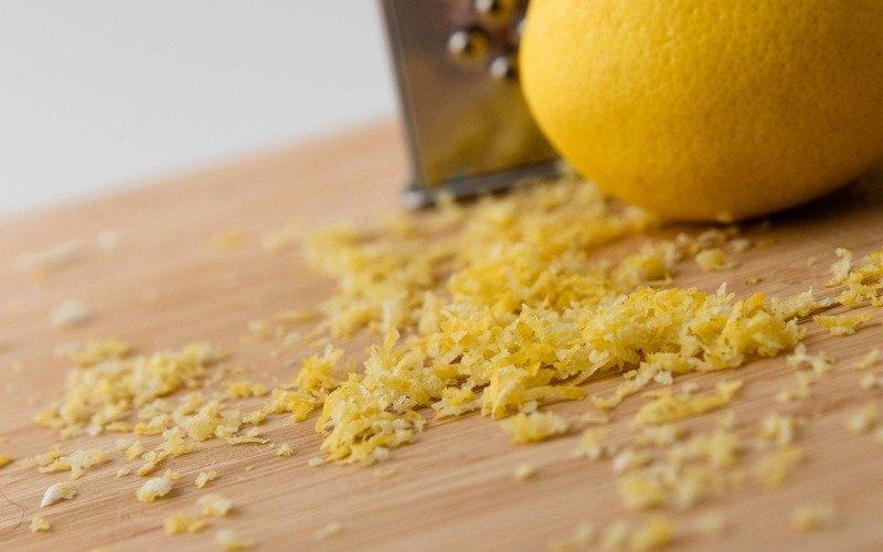 маска из цедры лимона
