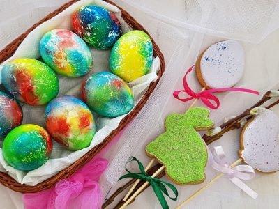Украшения для куличей и пасхальных яиц