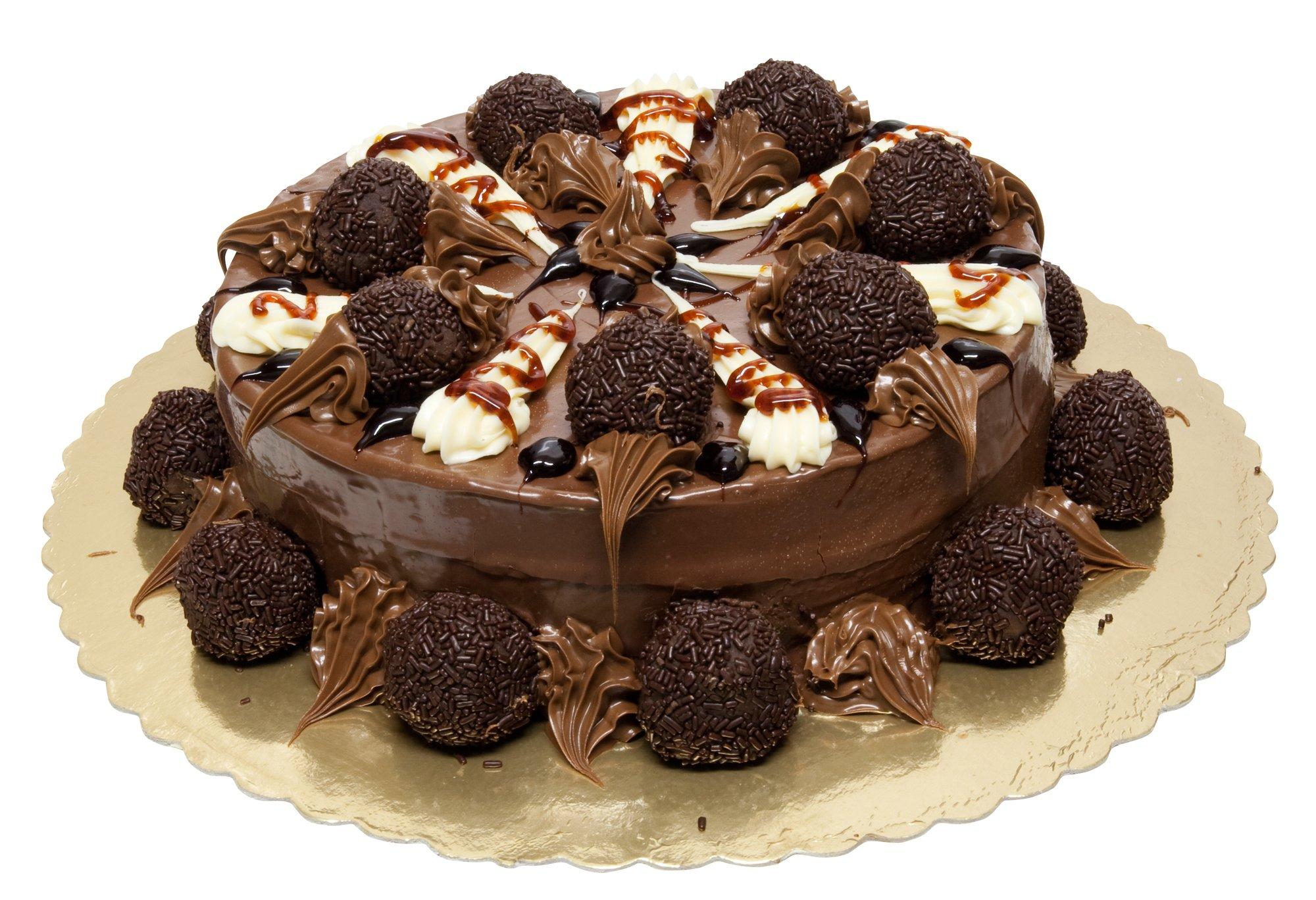 ciasto z cukierkami
