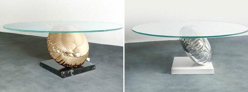 журнальный столик в форме воздушного шара