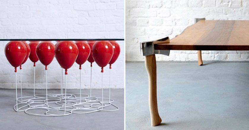 необычный стол
