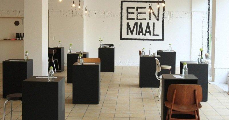 Кафе для одиночек Eenmaal
