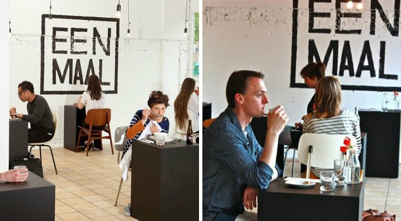 кафе для любителей одиночества
