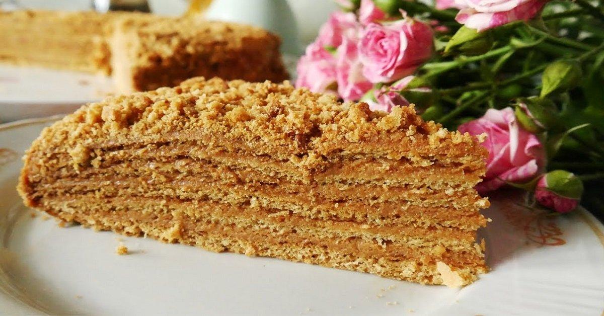 Медовый торт со сгущенкой рецепт с фото банальности хочется