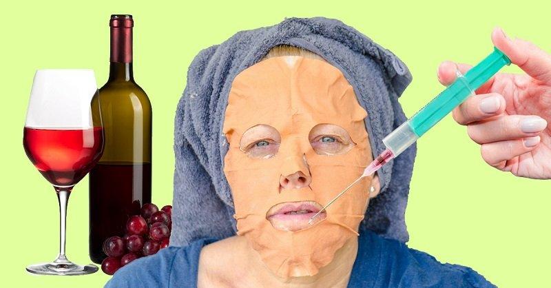 Вино и кожа лица thumbnail