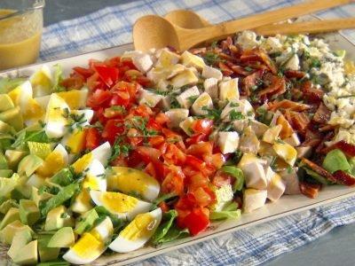 Вкусные салаты на ужин