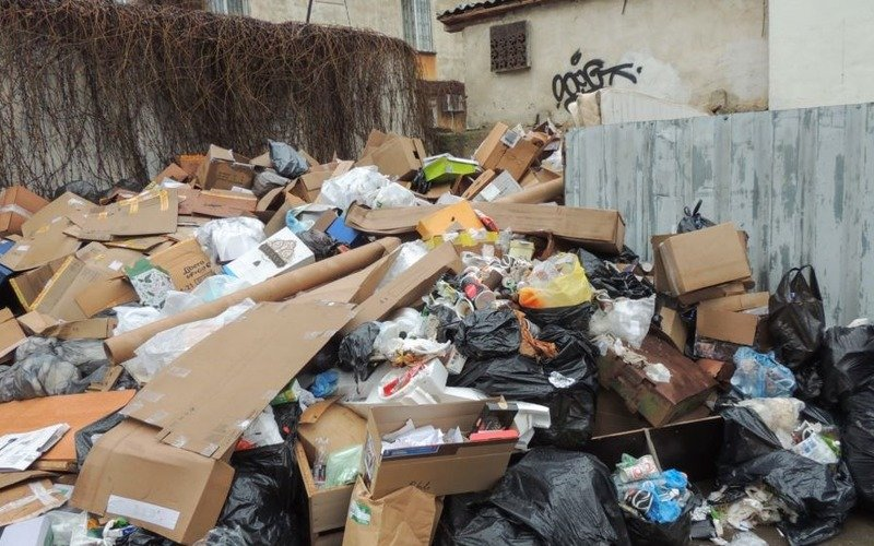 сортировка мусора