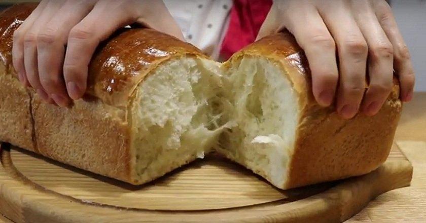 белый хлеб фото