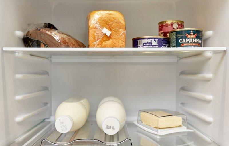 продукты к холодильнике